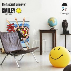 Smiley lampa